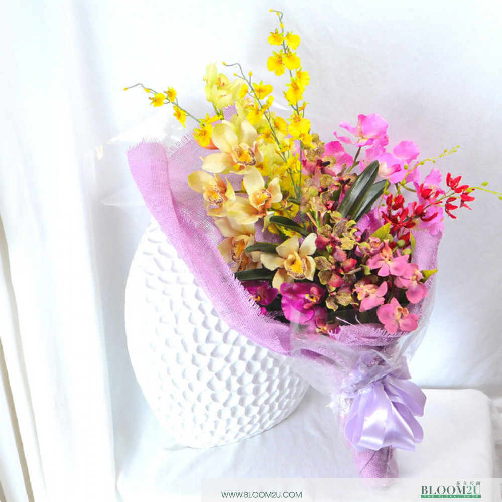 Obsessed Artificial Flower Bouquet Online Flower Delivery Bloom2u