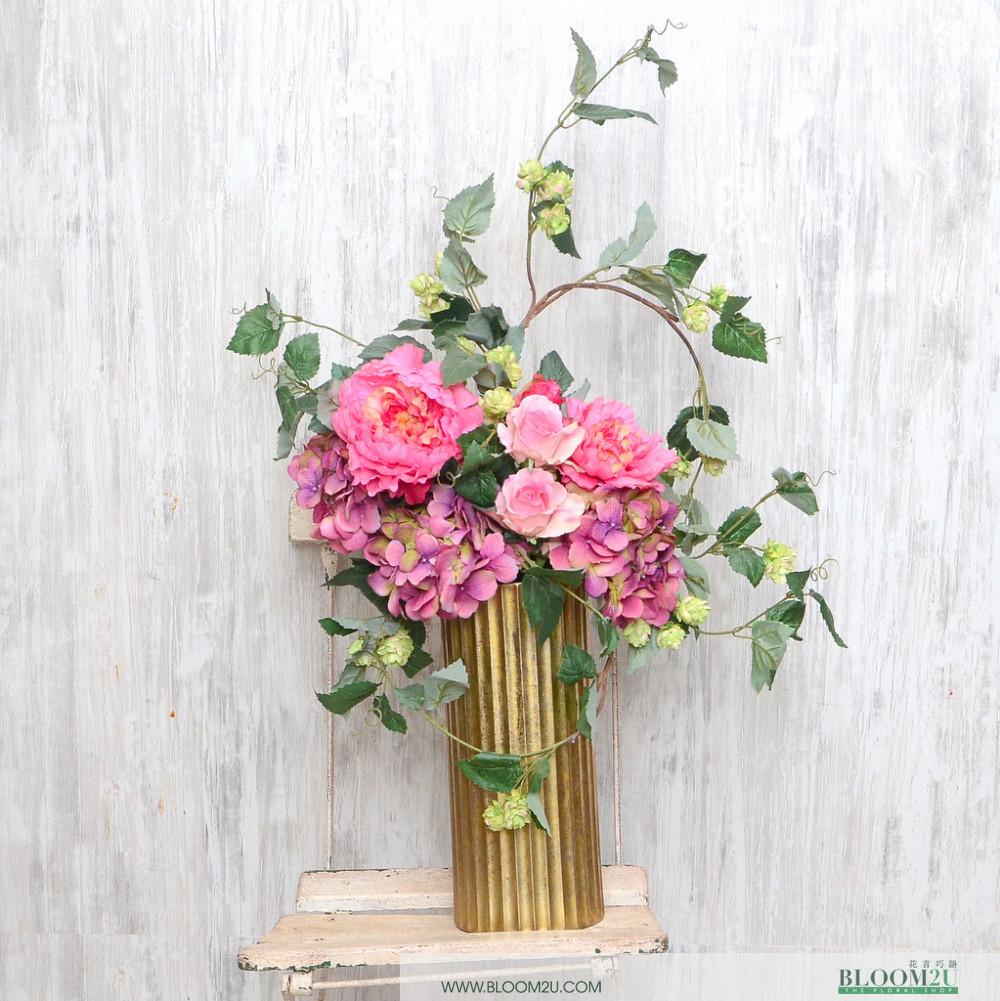 Masayu Artificial Flower Arrangement Online Flower Delivery Bloom2u