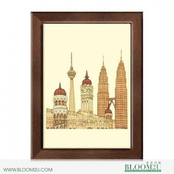 Sultan Abdul Samad Building Corporate Gift