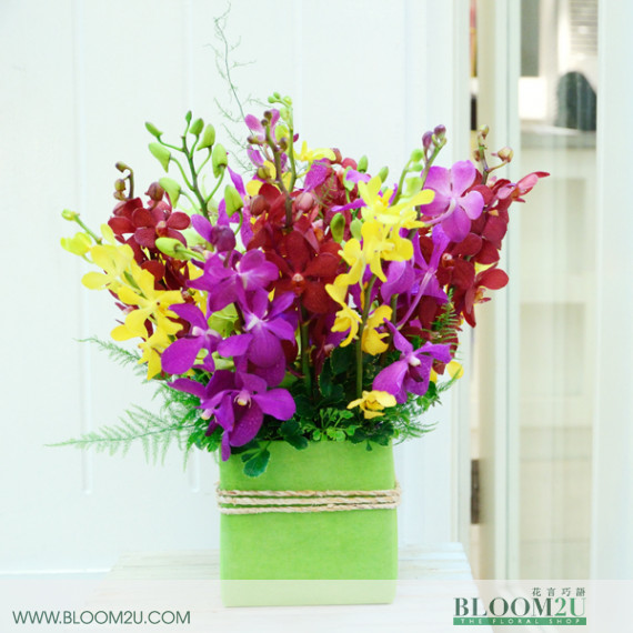 Orchid Flower Arrangement
