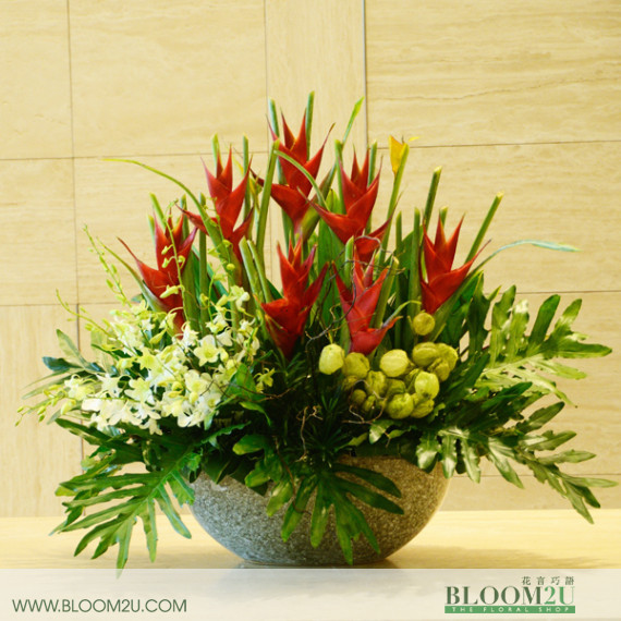 Tropical F\flower arrangement
