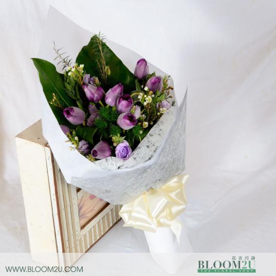 Tulips Hand Bouquet