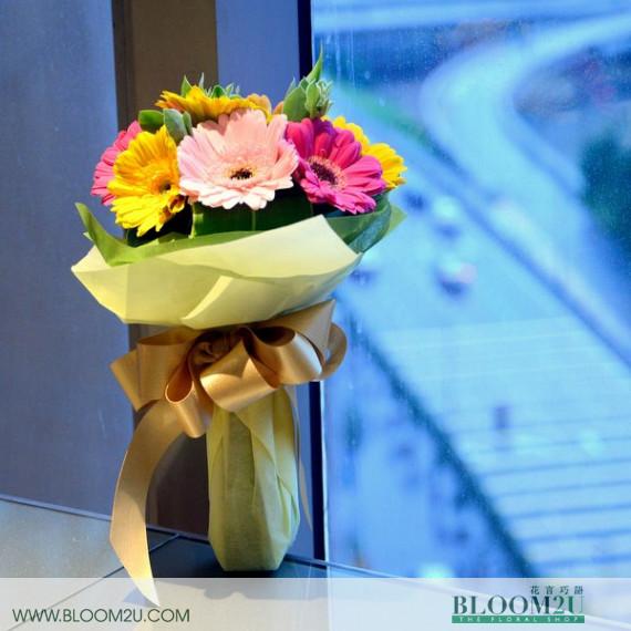 Daisy Hand Bouquet