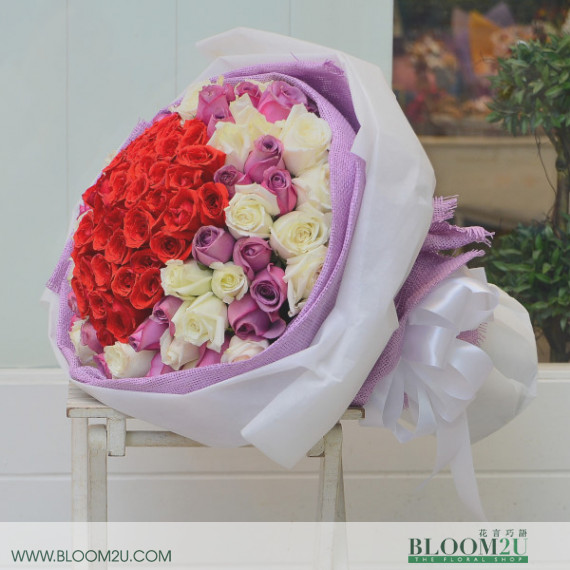 Rose Hand Bouquet