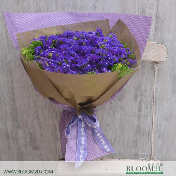 Purple Statuce Bouquet