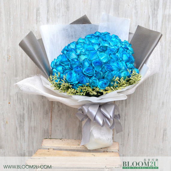 99 stalks bouquet