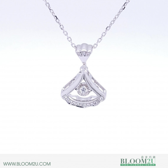 white gold pendant malaysia