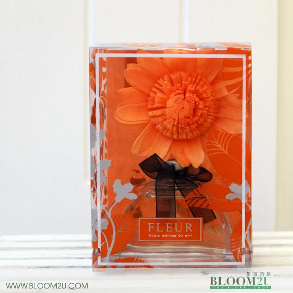 Fleur Orange Royal