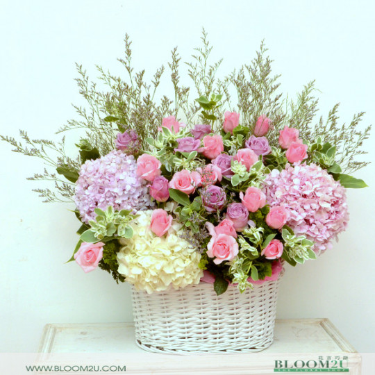 Grand Flower Basket