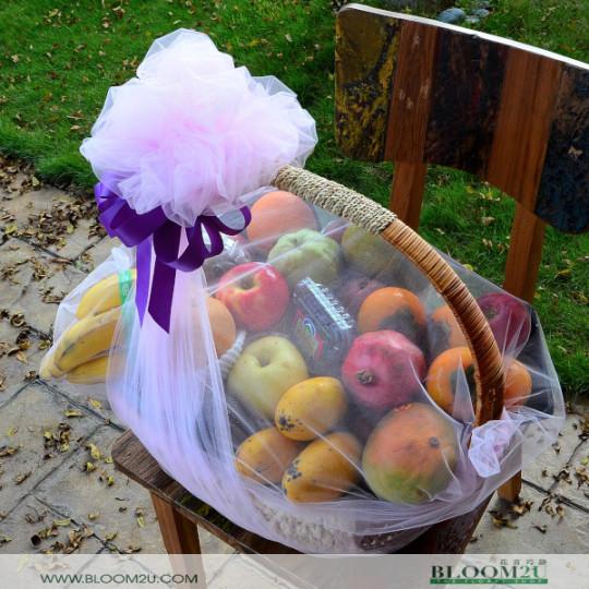 Luxury Fruit Basket