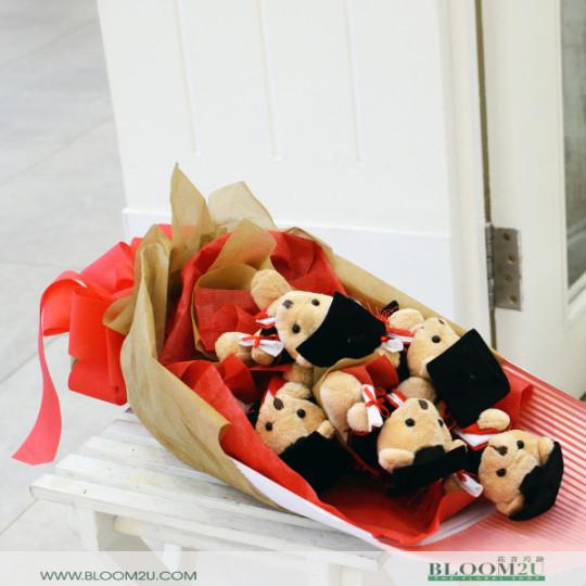bear bouquet