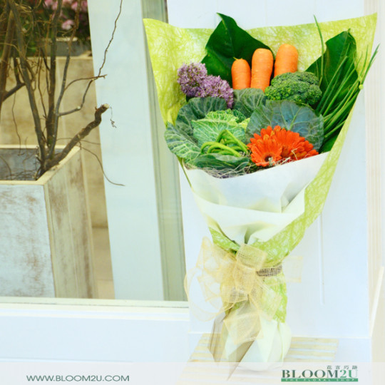 Vegetable Hand Bouquet