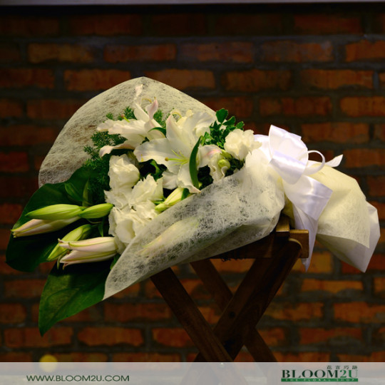 Lily Hand Bouquet Delivery Malaysia