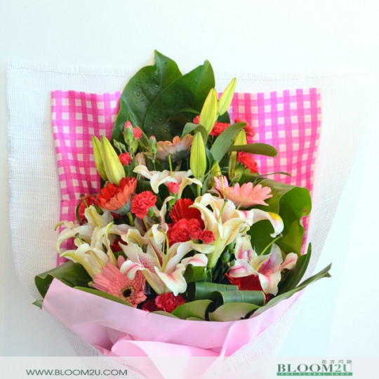 French Hand Bouquet