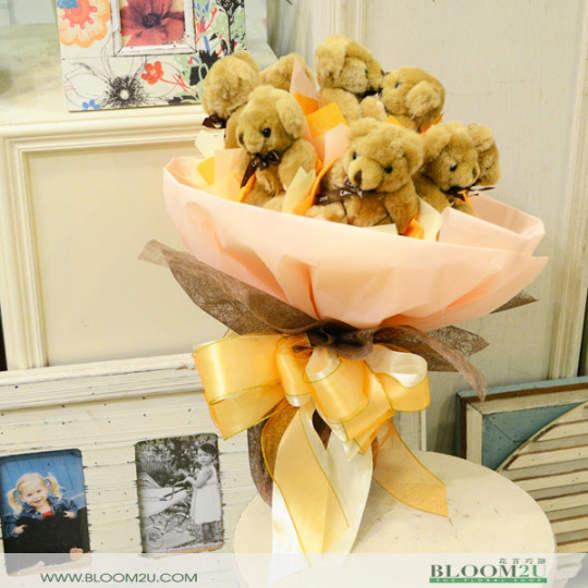 Bear Bouquet