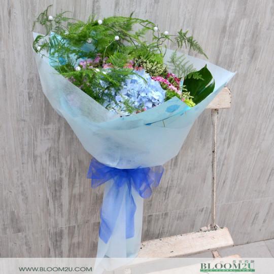 Hydrangea Flower Bouquet