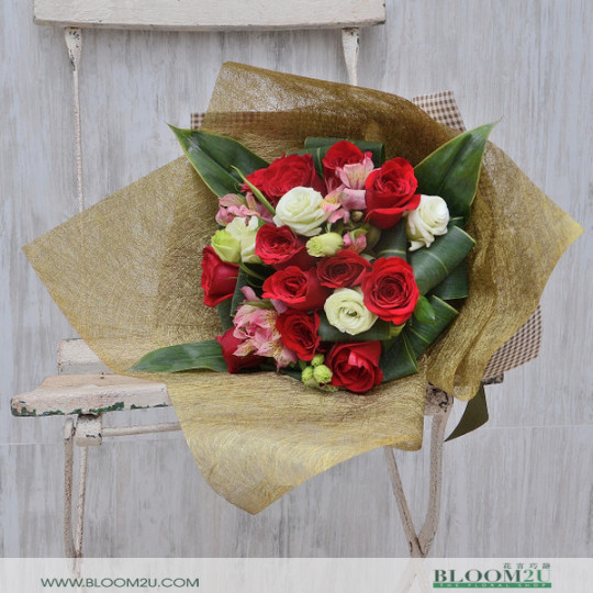 Rose Bouquet Delivery Malaysia