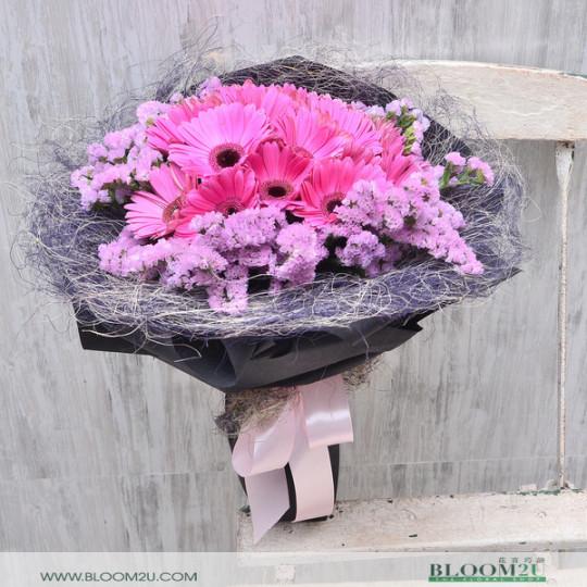 Chiuri Gerbera Hand Bouquet