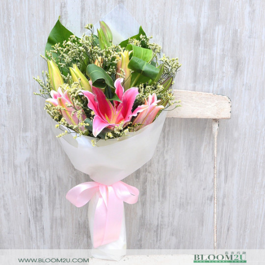 Lily Flower Bouquet