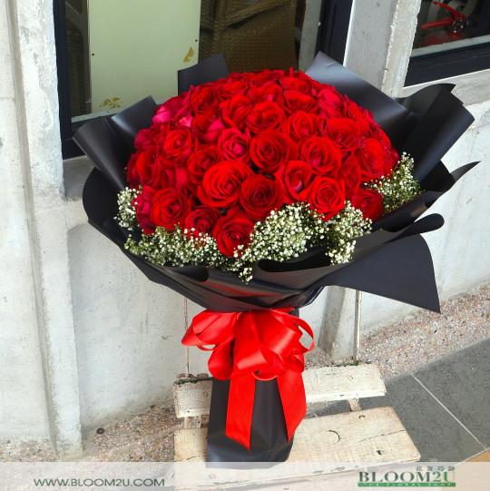 wedding proposal roses