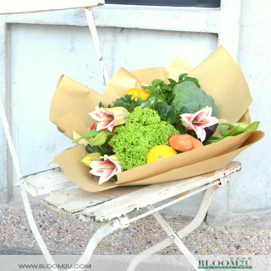 Vegetable Flowers Bouquet