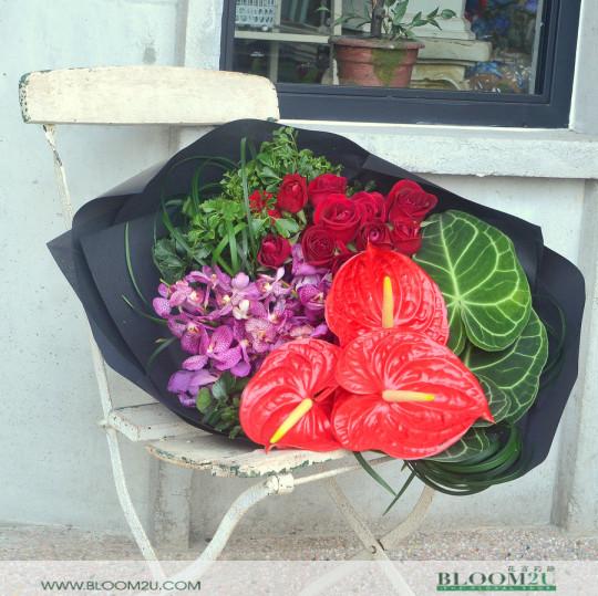 bouquet delivery selangor
