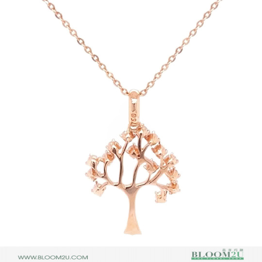 pendant tree with diamonds