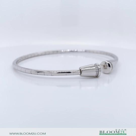 white gold love bracelet