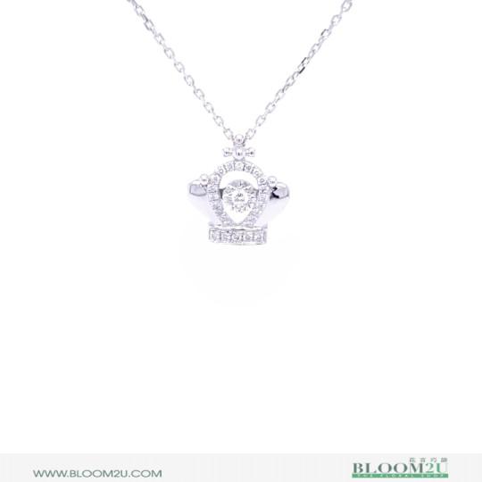 white gold pendant online