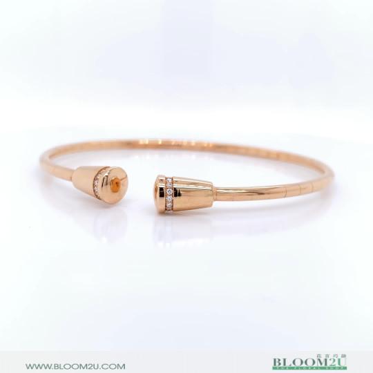 fin gold bracelet