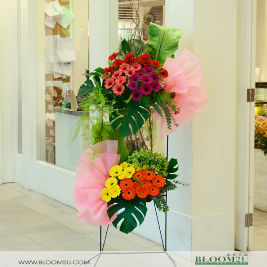 congratulation flower stand