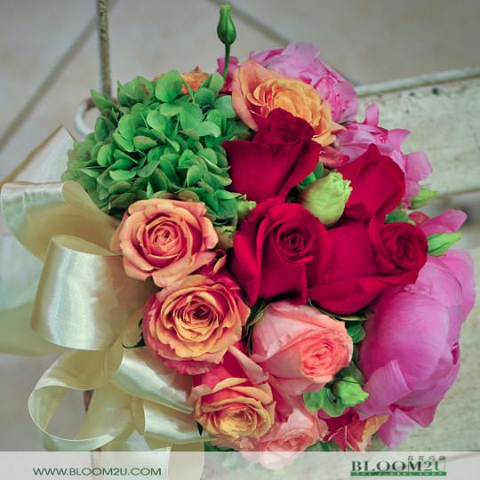 Peonies Mix Roses