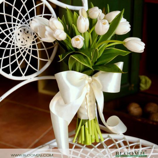 Tulips Bridal Bouquet