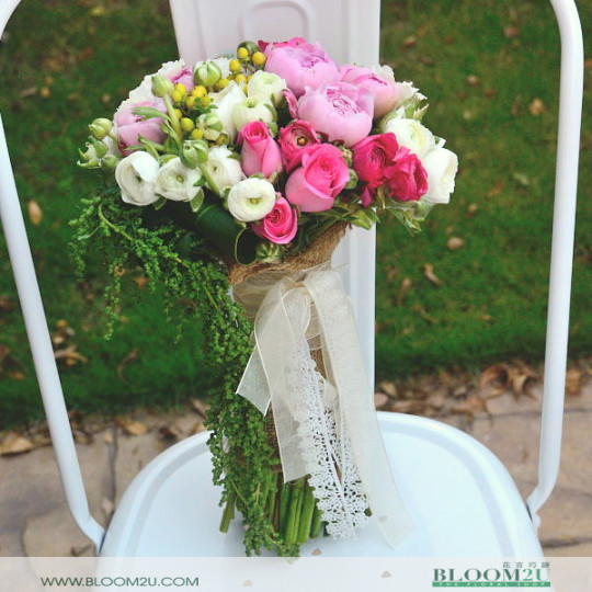 Ranoculous Bridal Bouquet