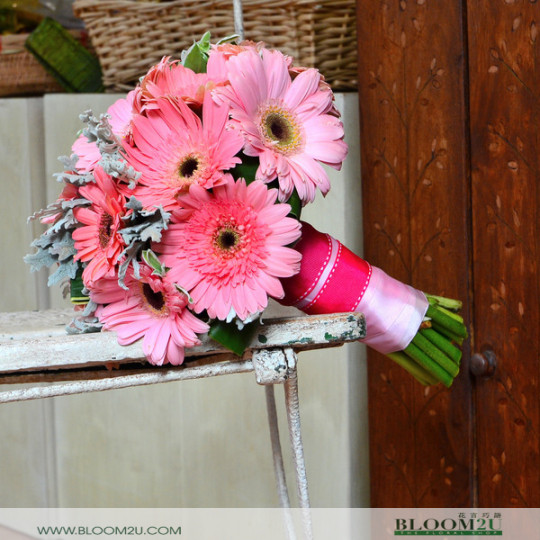 Gerbera Bridal Bouquet
