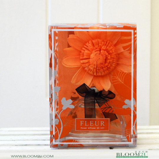 Fleur Orange Royal
