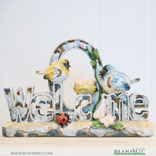 Welcome Bird Decor