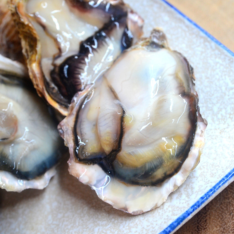 Thick Flesh Oysters From Japan